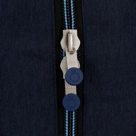 Mochila doble con carro Enso Blue