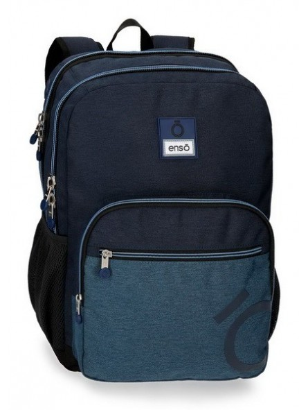 Mochila doble adaptable Enso Blue