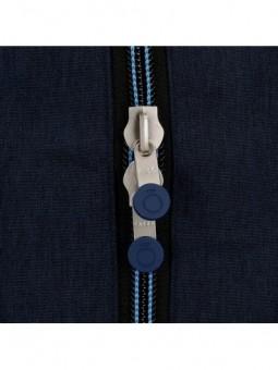 Mochila doble adaptable Enso Blue