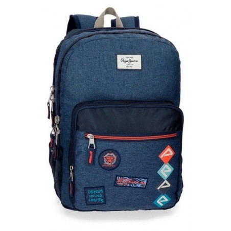 Mochila doble adaptable Pepe Jeans Paul