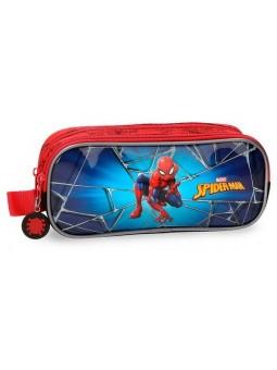 Estuche neceser doble Spiderman Black