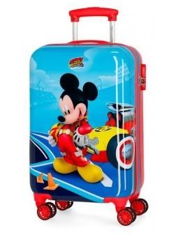 Maleta cabina dura Disney Lets Roll Mickey