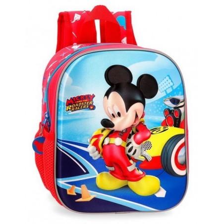 Mochila de paseo Disney Lets Roll Mickey