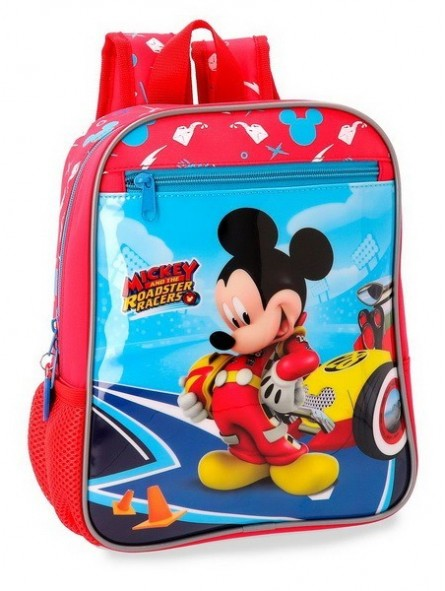 Mochila pequeña adaptable Disney Lets Roll Mickey