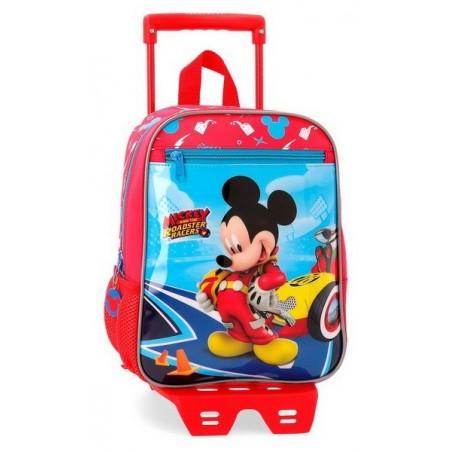 Mochila pequeña con carro Disney Lets Roll Mickey