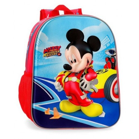 Mochila mediana Disney Lets Roll Mickey