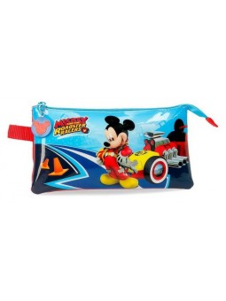 Estuche triple Disney Lets Roll Mickey