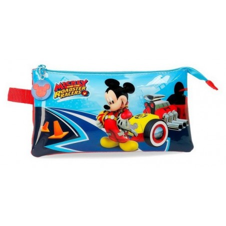 Estuche triple Disney Lets Roll Mickey