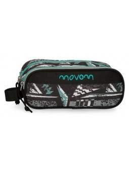 Estuche neceser doble Movom Arrow