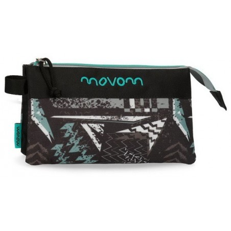 Estuche neceser triple Movom Arrow