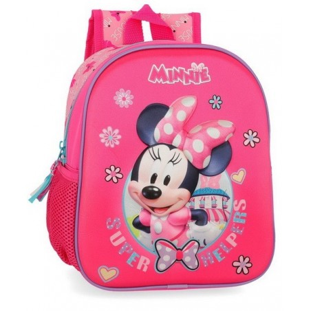 Mochila de paseo Disney Minnie Super Helpers