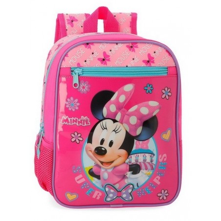 Mochila pequeña adaptable Disney Minnie Super Helpers