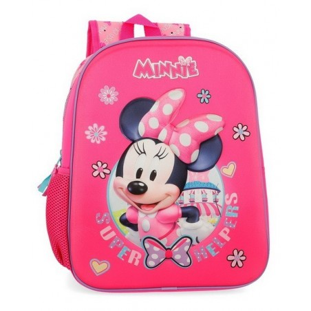 Mochila mediana Disney Minnie Super Helpers