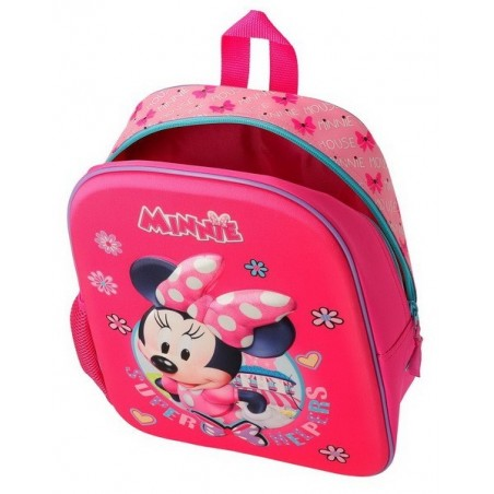 Mochila mediana con carro Disney Minnie Super Helpers