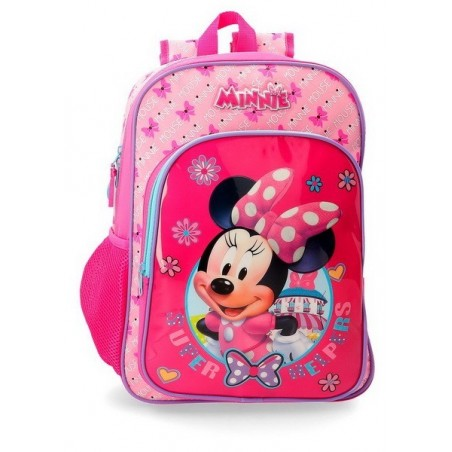 Mochila grande Disney Minnie Super Helpers
