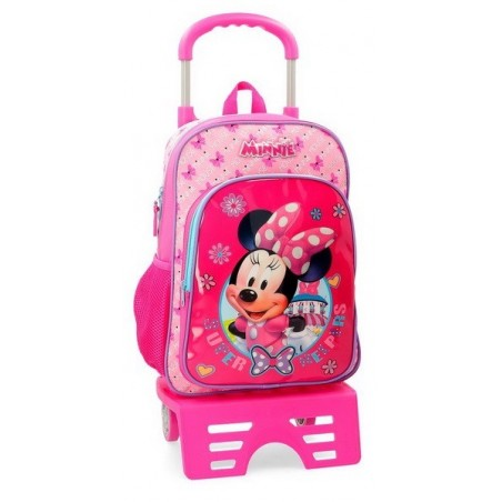 Mochila grande con carro Disney Minnie Super Helpers