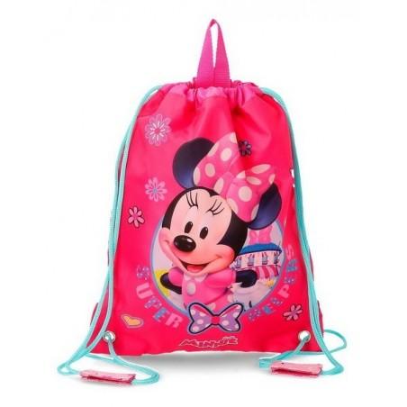 Mochila saco Disney Minnie Super Helpers
