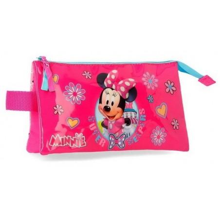 Estuche neceser triple Disney Minnie Super Helpers