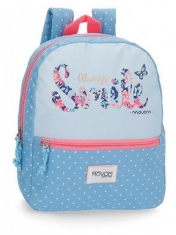 Mochila pequeña Movom Always Smile