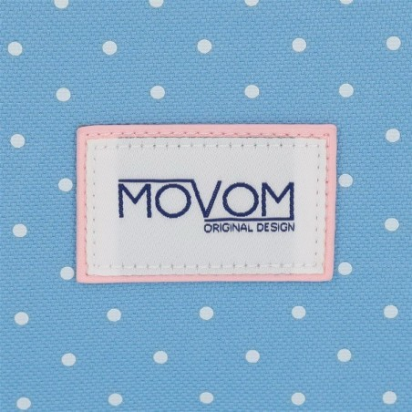 Mochila doble con carro Movom Always Smile