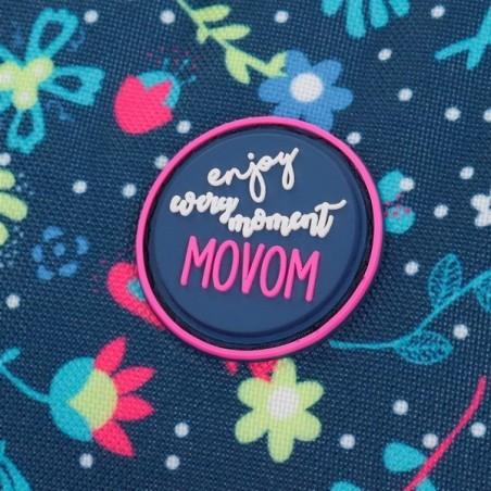 Estuche neceser triple Movom Nice Flowers