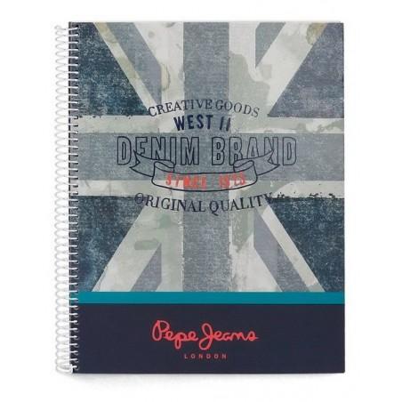 Cuaderno espiral A4 Pepe Jeans Ian