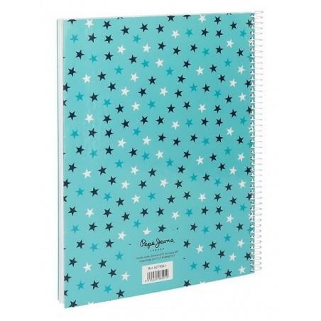 Cuaderno espiral A4 Pepe Jeans Cuore
