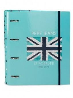 Carpeta anillas con recambio Pepe Jeans Cuore