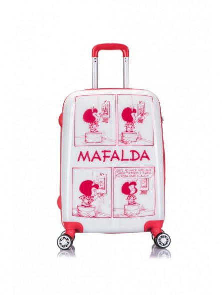 Maleta Mediana Mafalda Comic + Mp3