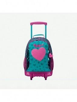 Mochila con ruedas + MP3 Totto Fairy 9V5