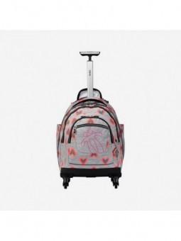 Mochila con ruedas + MP3 Totto Carbondillo 8GT