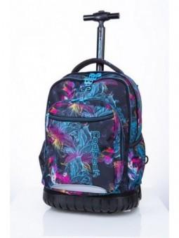 Mochila con ruedas + MP3 CoolPack Swift Vibrant Bloom