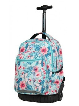 Mochila con ruedas + MP3 CoolPack Swift New Pink Rose