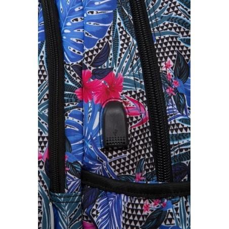 Mochila + MP3 CoolPack Strike Aloha Blue