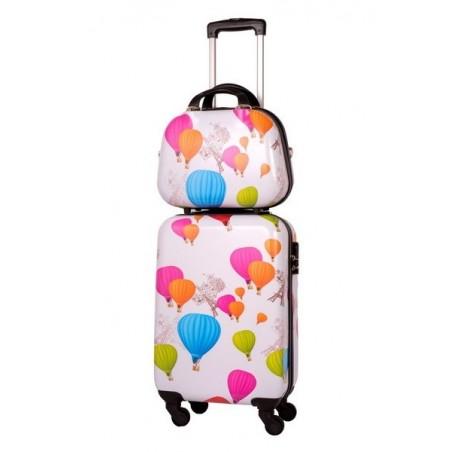 Set maleta cabina Globos + neceser