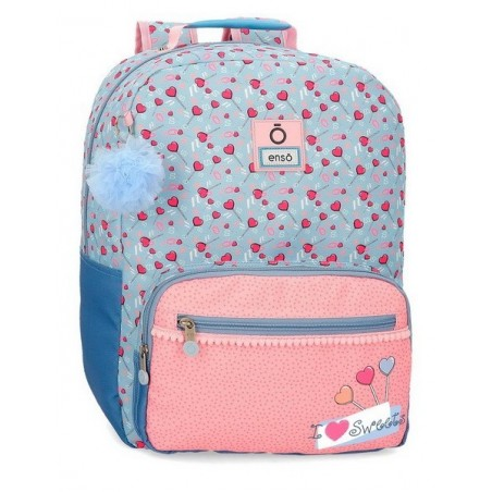 Mochila portaordenador adaptable Enso I love sweets