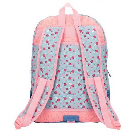 Mochila doble adaptable Enso I love sweets