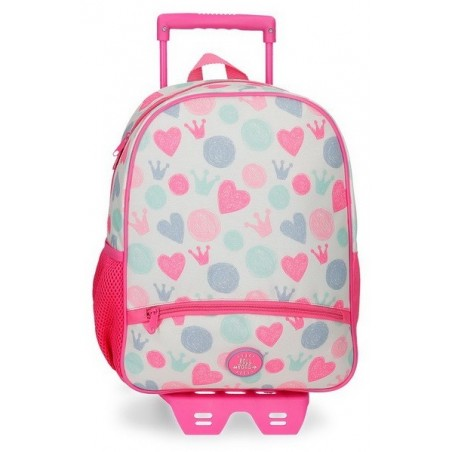 Mochila Pqueña con carro Roll Road Queen