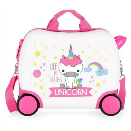 Maleta correpasillos pequeña Roll Road Little Me Unicorn