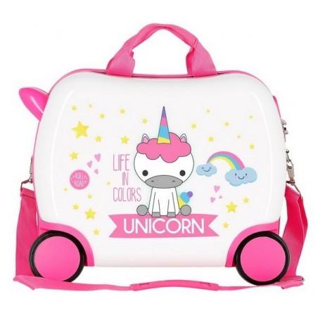 Maleta correpasillos pequeña Roll Road Little Me Unicorn