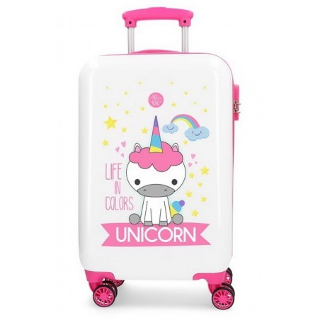 Maleta cabina Roll Road Little Me Unicorn