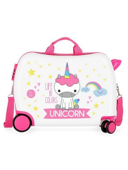 Maleta correpasillos RG Roll Road Little Me Unicorn
