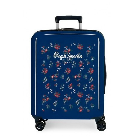 Maleta cabina Pepe Jeans Taking off flor