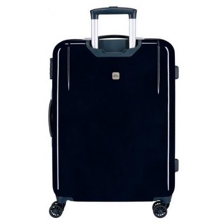 Juego de maletas Catalina Estrada Abanico azul