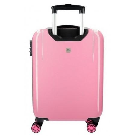 Juego de maletas Catalina Estrada Abanico rosa