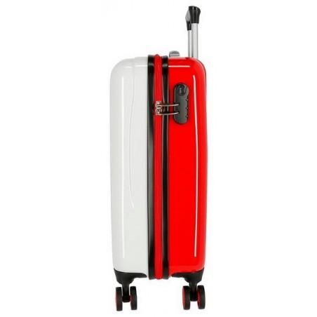 Juego de maletas Catalina Estrada Abanico rojo