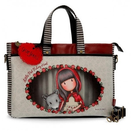 Bolso portaordenador Gorjuss Little Red Riding Hood