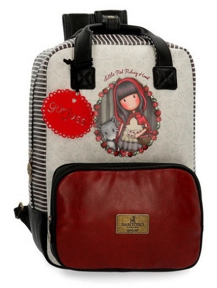 "Mochila portaordenador 15,6"" Gorjuss Little Red Riding Hood"