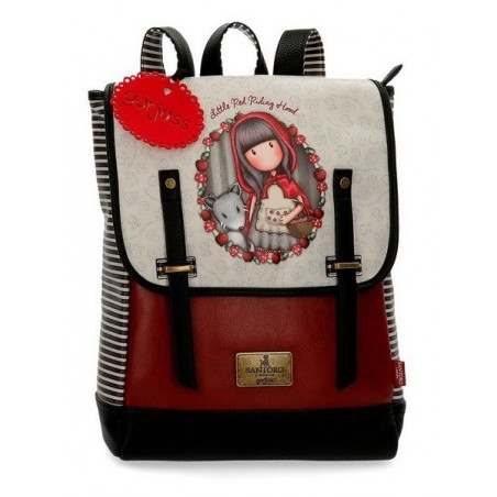 "Mochila portaordenador 13,3"" Gorjuss Little Red Riding Hood"