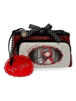 Estuche neceser triple Gorjuss Little Red Riding Hood